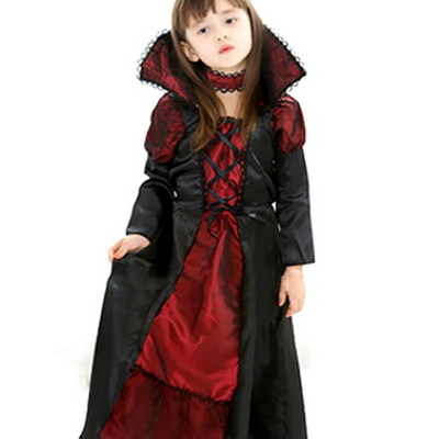 뱀파이어공주 아동 할로윈 파티 코스튬 의상