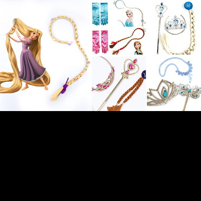소피아공주세트 왕관봉세트 귀걸이 반지 팔찌 목걸이