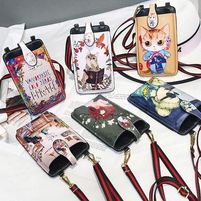 빈티지 엣지 크로스백 핸드폰가방 미니백 폰가방