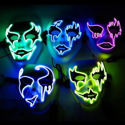 LED 루시퍼 인싸가면 할로윈 소품 파티 클럽용품