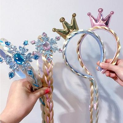 겨울왕국 엘사머리띠장갑세트2 공주머리띠