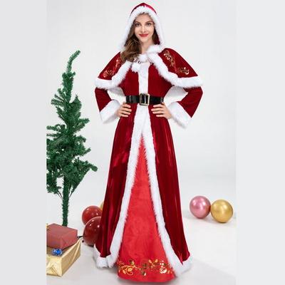 크리스마스 파티 엘레강스 산타여신 의상 산타클로스
