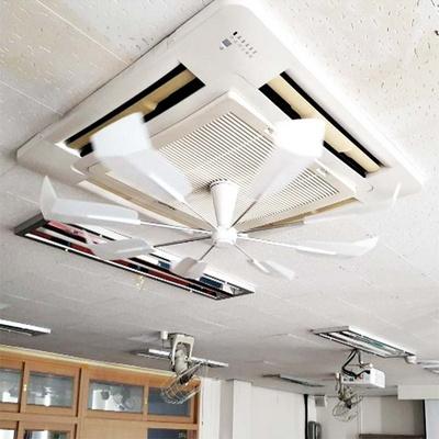 천장형 에어컨 무동력 순환 바람개비 씰링 실프 팬