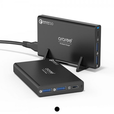 USB-PD 퀵차지3.0 2포트 C타입 컴팩트 고속멀티충전기
