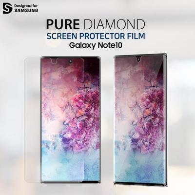 아라리 갤럭시노트10 액정보호필름 PET퓨어 다이아몬드