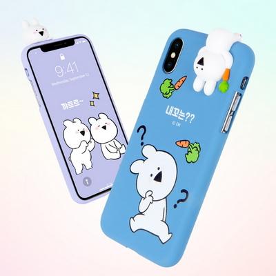 오버액션 피규어젤리 -아이폰 XS