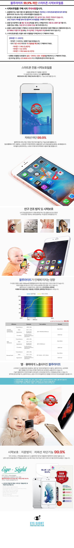 블루라이트 99.9차단 스마트폰 시력보호필름 -아이폰 6S - 모션테크, 8,800원, 필름/스킨, 아이폰6S/6S플러스