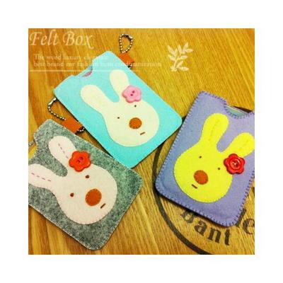 [반제품 DIY kit] 토끼 카드 지갑