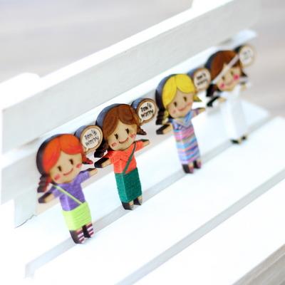 걱정인형 만들기 팬시우드 나무공예 색칠공부 수업