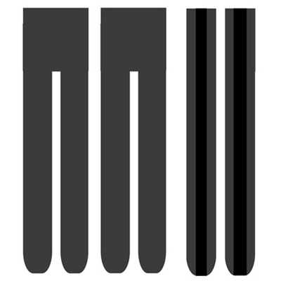 Black Line 스타킹