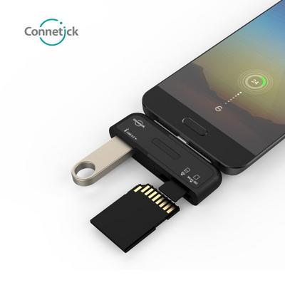 Connetick 커네틱 CHU-01 C타입 3 in 1 USB 3.0 허브