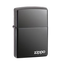 [ZIPPO] 150ZL BLACK ICE LOGO