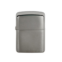 [ZIPPO] 162 BRUSHED CHROME ARMOR HEAVY WALL