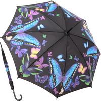 문라이트 버터플라이 - 원목 자동장우산