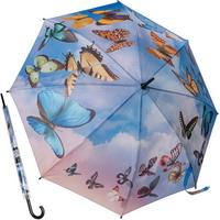 스월링 버터플라이 - 원목 자동장우산