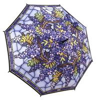 행잉 위스테리아 - 원목 자동장우산
