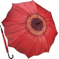레드 데이지 - 원목 자동장우산