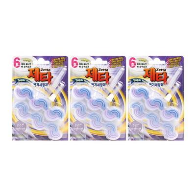 [제타]걸이형 변기세정제(2입) 3개세트(총 6개)