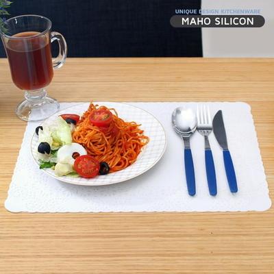 실리콘 레이스 테이블 식탁매트