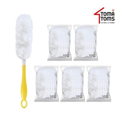 [토마톰스]더스틱 양면 먼지떨이+리필 소(10입) 5개