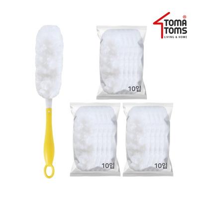 [토마톰스]더스틱 양면 먼지떨이+리필 소(10입) 3개