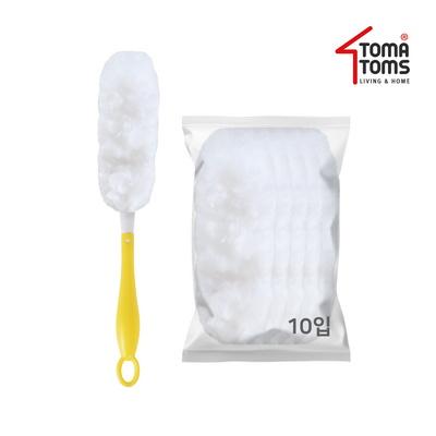[토마톰스]더스틱 양면 먼지떨이+리필 소(10입)