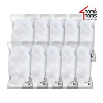 [토마톰스]더스틱 양면 먼지떨이 리필 대(5입) 10개