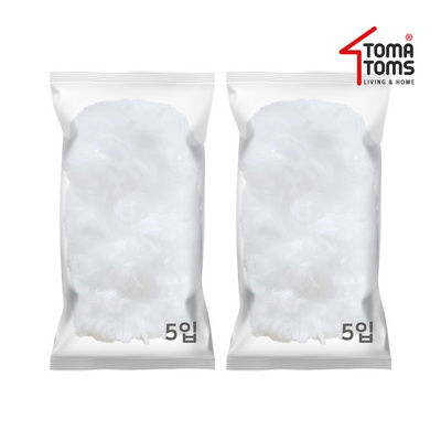 [토마톰스]더스틱 양면 먼지떨이 리필 대(5입) 2개