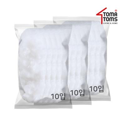 [토마톰스]더스틱 양면 먼지떨이 리필 소(10입) 3개