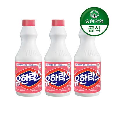 [유한양행]유한락스 후로랄 1L 3개
