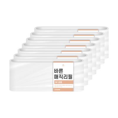 [바른]바른 매직리필 9L(220)용 연속비닐(매직캔 호환) 7개