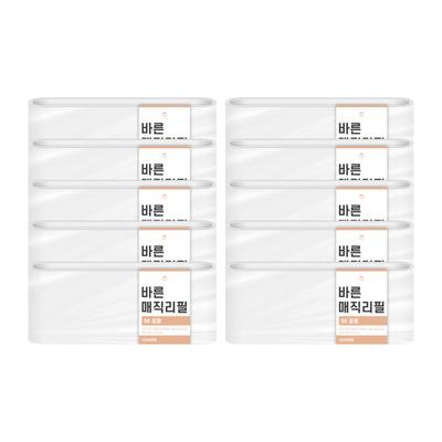 [바른]바른 매직리필 9L(220)용 연속비닐(매직캔 호환) 10개