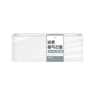[바른]바른 매직리필 14L 16L 20L(250)용 연속비닐(매직캔 호환)