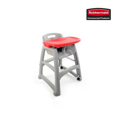 [러버메이드]유아용 식탁의자 풀세트(의자+트레이+바퀴)
