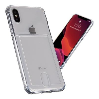 아이폰11 하이브리드 에어백 카드포켓 젤리 케이스