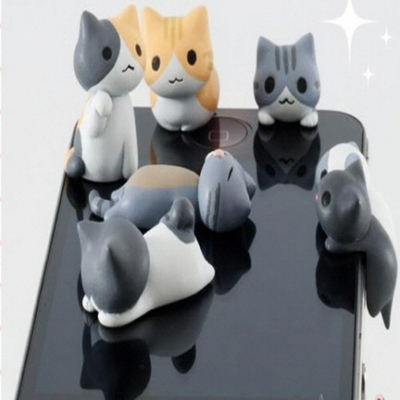 고양이 이어캡 6종류 일본 직수입정품