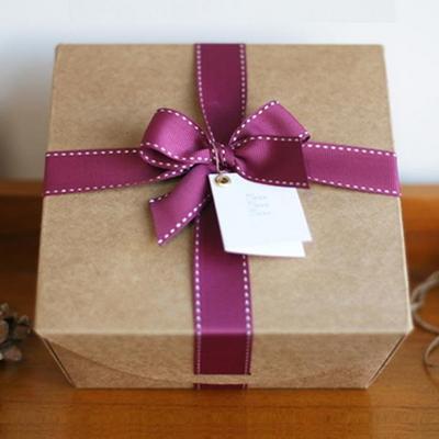뉴 사각 크라프트 박스 16.5cm