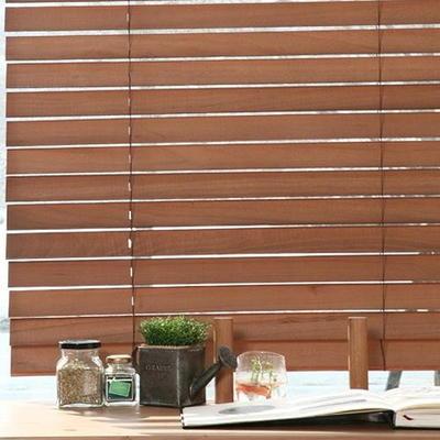 [제너럴]오동나무원목우드블라인드-라이트브라운