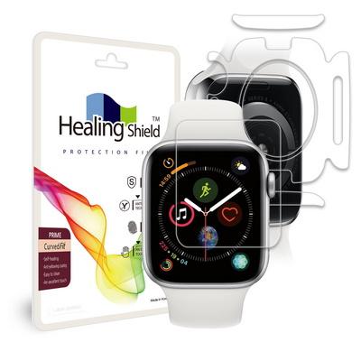 애플워치4 44mm 프라임 액정2매 심박센서2매 측후면2