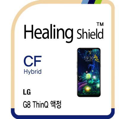 LG G8 씽큐 하이브리드 고광택 액정보호필름 2매