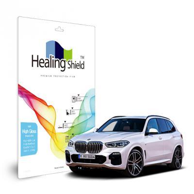 BMW X5 2019 12.3형 내비게이션 올레포빅 Light 필름