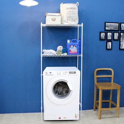 세탁기메탈선반2단수납장750