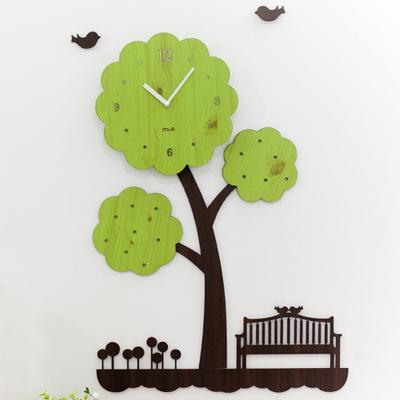 나무의 꿈 무소음벽시계