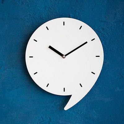 쉼표 무소음벽시계