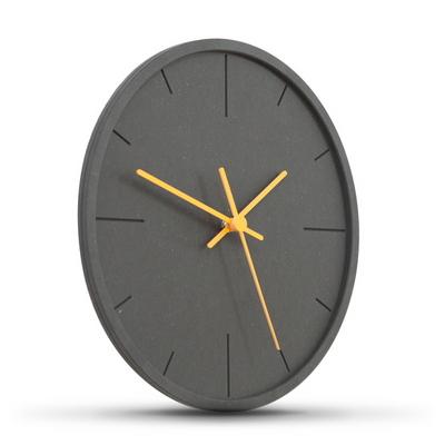 ECO 블랙 앤 포인트 무소음벽시계