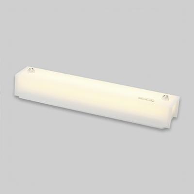 LED 아크릴 욕실등 사각 밀크 20W 국내산