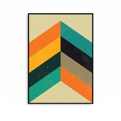 그림액자 북유럽 거실인테리어 셰브론 패턴