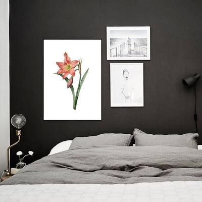 꽃그림액자 인테리어 거실벽 꾸미기 북유럽풍 디자인
