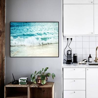 여름 인테리어 액자 북유럽 모던 거실 해변 풍경