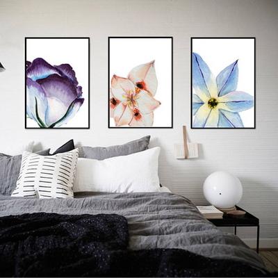 북유럽 인테리어 꽃액자 꽃그림 세트